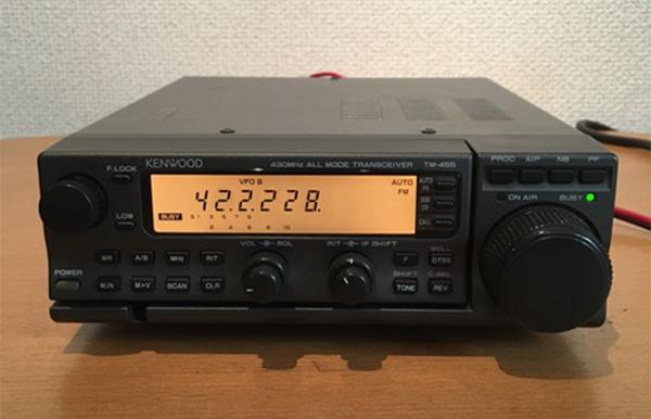 KENWOOD ケンウッド 無線器 オールモード トランシーバー TM-455S