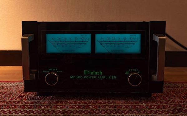 McIntoshパワーアンプMC500パワーメーター