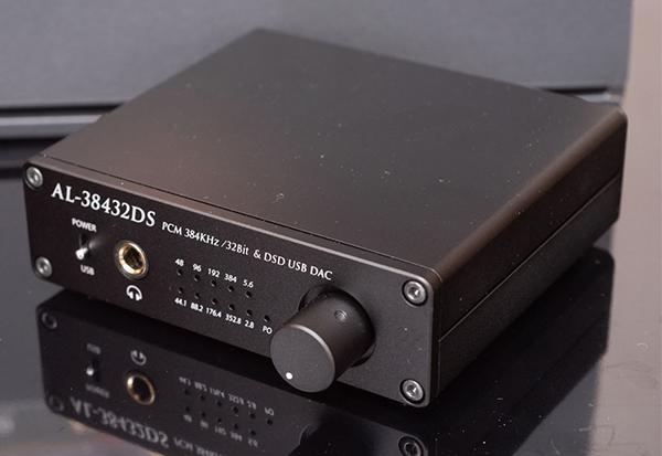 Amulech(アムレック)AL-38432DS USB DAC/ヘッドフォンアンプ