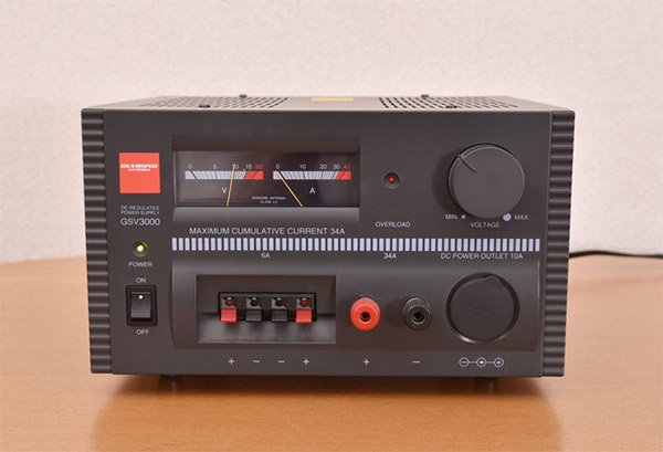 第一電波工業(ダイヤモンド) GSV3000 直流安定化電源