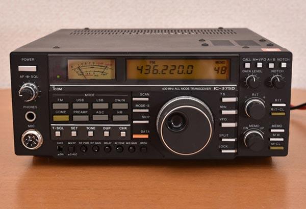 icom アイコム 430MHz オールモード トランシーバー IC-375