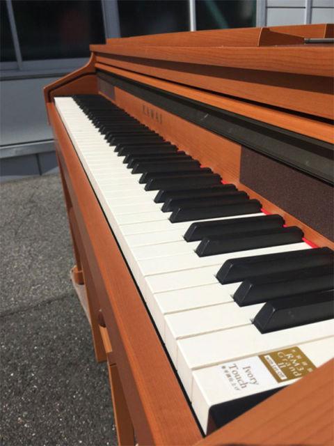 カワイ電子ピアノ CA17C 鍵盤画像