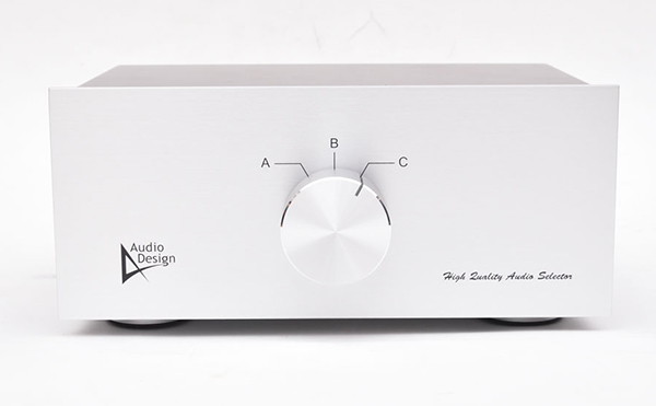 Audiodesign オーディオデザイン バランスラインセレクターHAS-3LB
