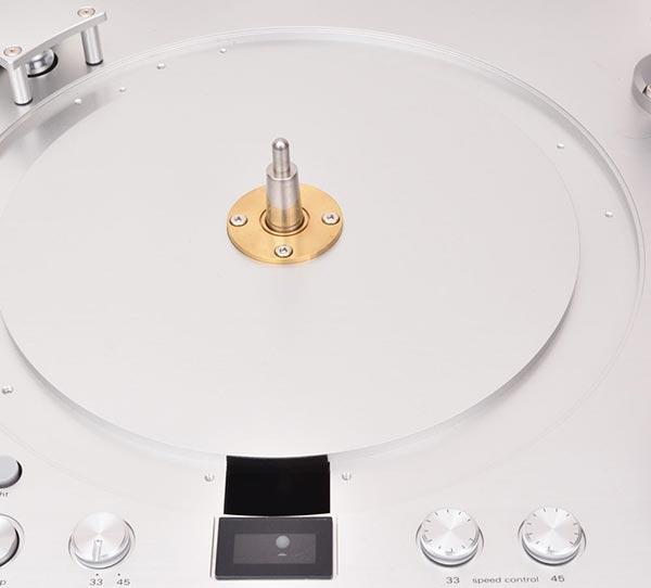 LUXMANレコードプレーヤーPD-171Aスピンドル部