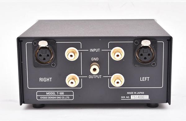 phasemation(フェーズメーション) MC昇圧トランス T500 背面端子
