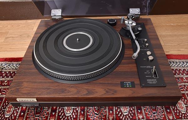 パイオニア レコードプレーヤー PL-1200A