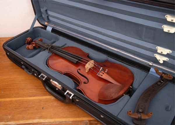 STRUMENTI buda Belgium anno 1999 バイオリン 4/4付属品