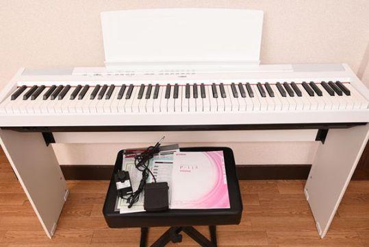 YAMAHA ヤマハ P-115WH 電子ピアノ 88鍵盤 ホワイト